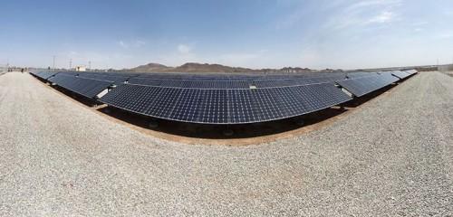 نیروگاه 536 کیلووات خورشیدی ملارد