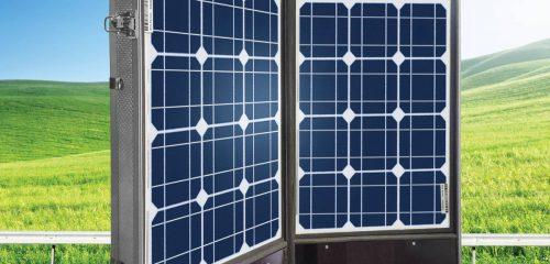 Solar Portable Suitcase